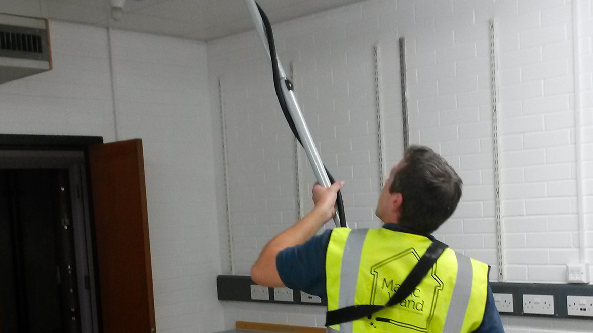 Ceiling Tile Cleaning Magic Wand Property Cleaning Company